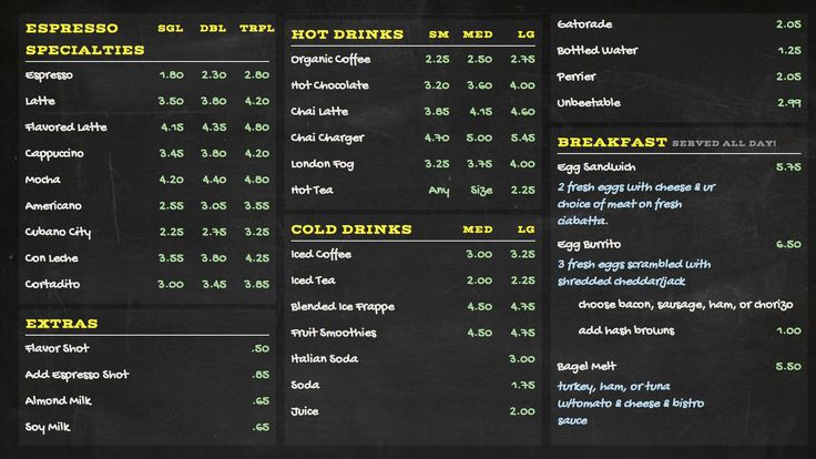 digital menu boards signage made easy with menuat